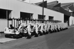 The Bobcat compact excavators celebrate their 25 year anniversary!