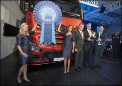 """Mercedez Benz Actros – """"Truck of the Year 2012"""""""