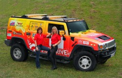 2 gazelles bretonnes participent au Rallye Aicha des Gazelles