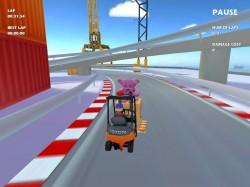 Toyota Material Handling  stworzyła grę na telefon  « Forklift Challenge »