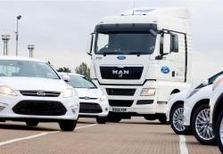 185 de camioane MAN TGX comandate de Ford in Marea Britanie