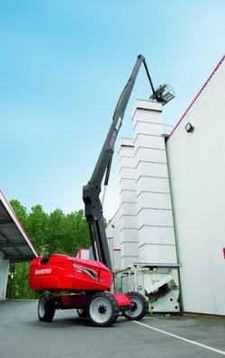 De hoogwerker 280TJ van Manitou verkozen tot Product van het jaar 2012 !