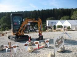 Incarcatoarele si excavatoarele Case sunt gata pentru noua editie Rodeo Case