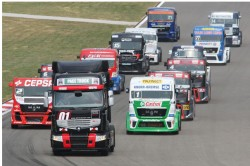 A inceput Campionatul European de Curse de Camioane editia 2012!