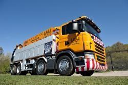 Scania scoate pe piata noile camioane municipale cu motoare Euro 6