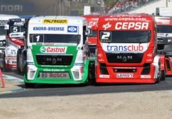Йохан Хан – победитель   чемпионата  Европы FIA  по гонкам грузовиков 2012