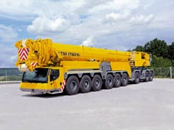 New Liebherr LTM 1750-9.1 all-terrain crane