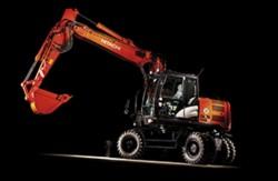 Una nueva excavadora de ruedas Hitachi de la gama Zaxis-5