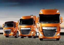 Новые модели DAF LF и  DAF CF для эко-нормы Евро 6 !