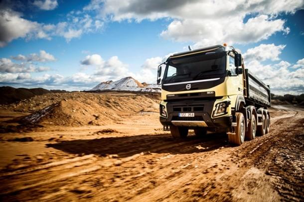 Bauma 2013: ¡Volvo Trucks revela su nuevo camión de construcción Volvo FMX !