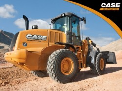 Uma nova pá carregadora sobre pneus Case : o 521F
