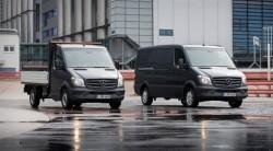 Sprinter od Mercedesa-Benza, pierwszy furgon  Euro 6 na świecie !