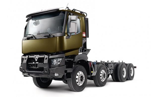 renault trucks c et renault trucks k deux nouveaux camions euro 6 pour la construction. Black Bedroom Furniture Sets. Home Design Ideas