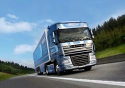 """IL DAF XF105 ATe premiato dal """"Fleet Truck of the year 2013"""", camion della flotta dell' anno"""