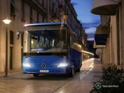 Zwei neue Längen für den Reisebus Mercedes Intouro