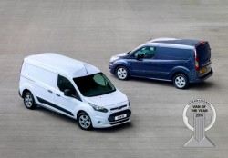 New Ford Transit Connect awarded commercial vehicle of the year!