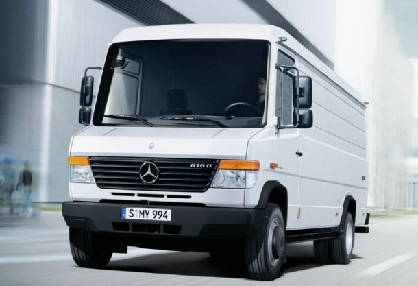 End of the production for the vario commercial heavy van for Mercedes benz commercial