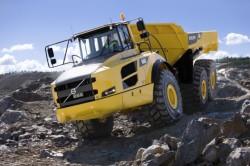 Volvo CE bietet Innovation mit seiner knickgelenkten Dumper F-Serie