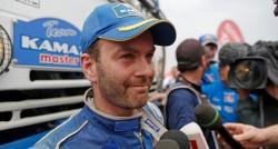 Dakar 2014 der LKW-Klasse : der Russe Andrej Karginow holt den Spitzenreiter ein