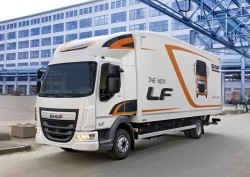 DAF introduces their new LF Aerobody !