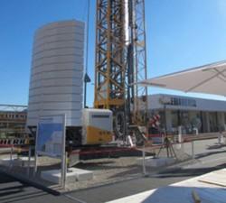 New Liebherr 53 K self-erecting tower crane