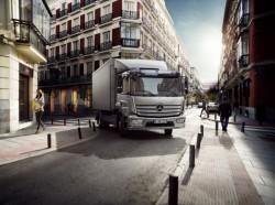 Uma nova versão Atego Euro 6 em Mercedes