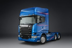Scania выпускает лимитированную серию Blue Stream !