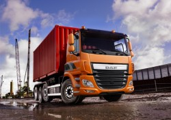 DAF expands Euro 6 series with four-axle CF and XF