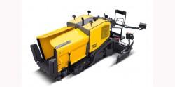 Atlas Copco îşi prezintă utilajul de turnat asfalt Dynapac F1200CSS