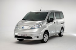 New cargo van 100% electric : Nissan e-NV200