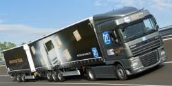 Приложение ZF для маневрирования грузовиков на расстоянии
