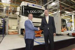 Un million de cabines produites pour l'usine DAF