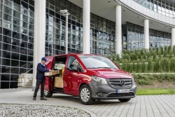 New Mercedes Vito van unveiled