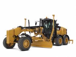 Новые грейдеры 12, 140 и 160 серии M3 от Caterpillar