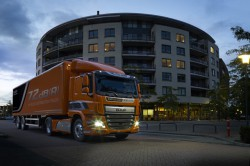 New DAF CF Silent : the extra quiet truck