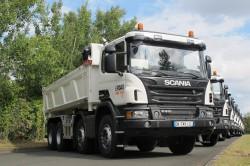 Off-road Tour 2014 : Scania fait tester ses camions de construction