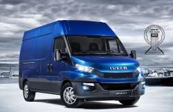Il nuovo Daily della Iveco eletto furgone dell'anno 2015 !