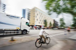 """Non Hit Car and Truck"", sistema anticolisión de Volvo Trucks"
