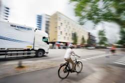 « Non Hit Car and Truck »  system zapobiegający wypadkom od Volvo Trucks