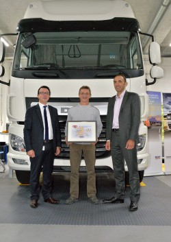 Concours DAF « Best Technician of the Year 2014 »