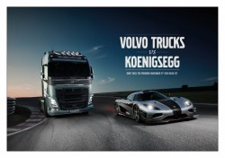 A Volvo FH vs. a sportscar : the new Volvo Truks challenge !