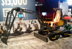 Volvo CE unveils their new innovations at the 2014 Bauma China