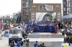 Dakar trucks 2015 : drie Russen op het podium !