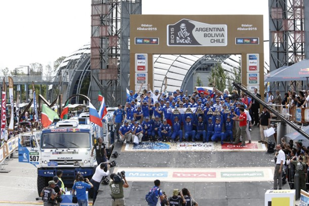 Dakar truck 2015 : Russians on the podium !