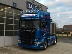 Série limitée Scania Blue Stream, premières livraisons en France !