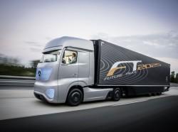 Mercedes, Hanover'deki IAA fuarında Future Truck 2025 modelinin lansmanını yaptı