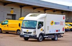 La Poste teste le Renault Maxity électrique avec pile à combustible fonctionnant à l'hydrogène