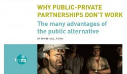 Public-private partnerships are still always criticized
