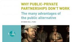 Public-private partnerships are still always criticized