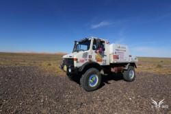 Aïcha des Gazelles rally : een onvergetelijke humanitaire ervaring voor het vrachtwagen team